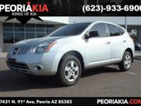 This is a nice 2010 Nissan Rogue with at Silver Ice