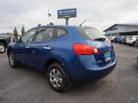 For a smoother ride, opt for this 2010 Nissan Rogue AWD