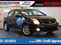 New Price! Black 2010 Nissan Sentra 2.0 SR FWD CVT with