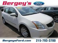 2010 Nissan Sentra Sedan 4DExt. Color: WhiteStock: