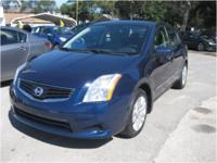 Well kept 2010 Nissan Sentra S with 2.0 L engine and
