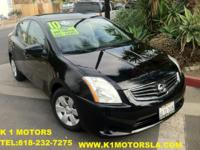 - 2010 NISSAN SENTRA - S - 5 Passenger Seating ,4 Door