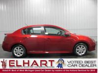 This NISSAN CERTIFIED 2010 Sentra SR 2.0 is in