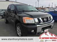 This 2010 Nissan Titan  has a 5.6 liter 8 Cylinder