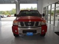 Options:  2010 Nissan Titan Se|Red|Se|Here At The