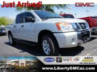 4WD. Crew Cab! Silver Bullet! Nissan has outdone itself