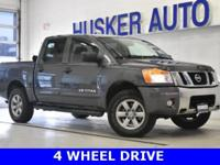 ** ONE OWNER **, ** 4 X 4 **, 4D Crew Cab, 4WD, ABS