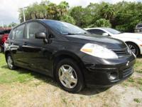 Look at this 2010 Nissan Versa . Its transmission and