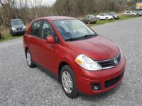 Options:  2010 Nissan Versa 1.8 S|Red|Stock No: