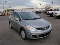 Options:  2010 Nissan Versa S Economy Sedan|Magnetic