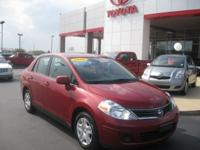 Options Included: N/A2010 Versa 1.8 SL 4dr Sdn I4 Auto