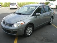 Options Included: N/A2010 Nissan Versa S, 36 MPG!,