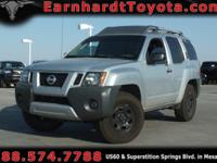 We are happy to offer you this 2010 Nissan Xterra which
