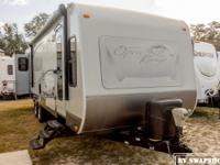 The 2010 Open Range Roamer is a stunning RV to camp in,