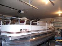 2010 Palm Beach 20ft pontoon, Mercury Bigfoot 60hp 4