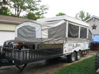 This22' Palomino Banshee B5 Toy Hauler can fit all your