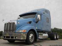 Very Nice 2010 Peterbilt 387's. These trucks come clean