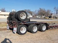 2010 PITTS RGN 55 Ton Lowboy Trailer For Sale in