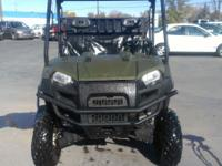 very nice Polaris ranger  6X6 With a dump bed  full