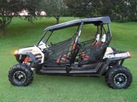 2010 Polaris RZR 800 $12,500.00 Mileage 1847 Garage