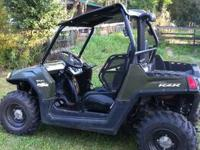 I have a 2010 Polaris RZR 800cc taken good care fully