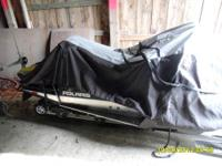POLARIS WIDE TRACK 20x156 SNOWMOBILE. ONLY 55 MILES.