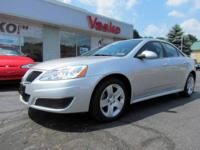 Sporty and economical, this 2010 Pontiac G6 has