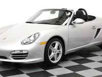 2010 Porsche Boxster Convertible with a six speed