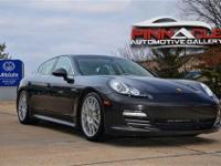 The 2010 Porsche Panamera offers remarkable performance