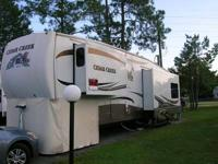 This Unique travel trailer is Sporty and Fun for a