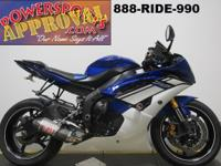 Used 2010 Yamaha R^ Sport bike for sale only $5,999!