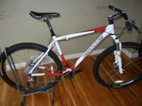 Up for sale is a used Redline D660 mountain bike. This