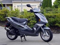 Beautiful dark grey low mileage 2010 Rockfire 150cc