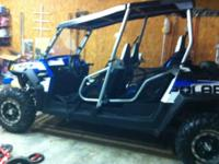 Up for sale is a 2010 Polaris RZR 4. This is the Robby