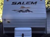 WERE SELLING OUR SALEM LE 2010 TRAILER IT'S IN