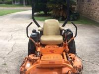 "2010 SCAG 48"" Tiger Cub Mower - 180 Hours Model -"