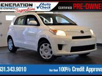 New Price! White 2010 Scion xD FWD 5-Speed Manual with