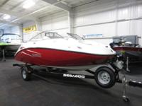 CLEAN 2010 SEA-DOO 180 CHALLENGER WITH ONLY 49 ENGINE