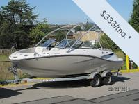 You can own this vessel for just $333 per month. Fill