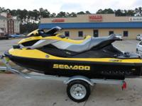 This 2010 Sea Doo RXT IS 260 has LOW hours.  This is