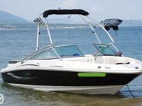 - Stock #077138 - 2010 Sea Ray 205 Sport Bowrider for