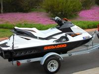 Seadoo GTI 130 Rotax 4-Tec with Galvanized Trailer 42