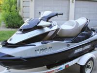 2010 Seadoo GTX 260 Limited only 63 hours of use.Very