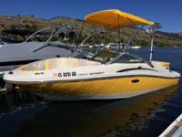 Like brand-new, one owner 2010 Searay 185 Sport. Great