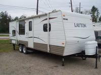 2010 Skyline Layton Model M-247 With Rear Bunks Very