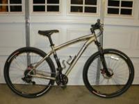 """Barely ridden, near perfect bike with a 19"""" frame for"""