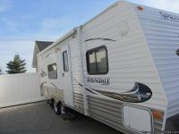 2010 Springdale Model 232RBL. Total trailer length is