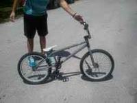 Mint condition 2010 Stolen Wrap BMX Bike. Barely used.