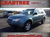 Options:  2010 Subaru Forester 2.5X|Awd 2.5X 4Dr Wagon