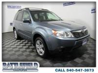 2010 Subaru Forester 2.5X Sage Green Metallic Reviews: